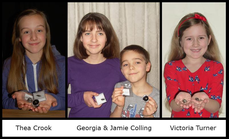 Winners Thea Crook, Georgia and Jamie Colling and Victoria Turner.