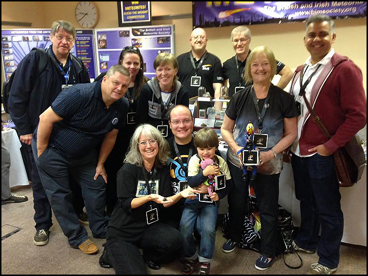 #BritArmy members meeting up at CosmicCon :-) (Photo courtesy of Alex Neumann)