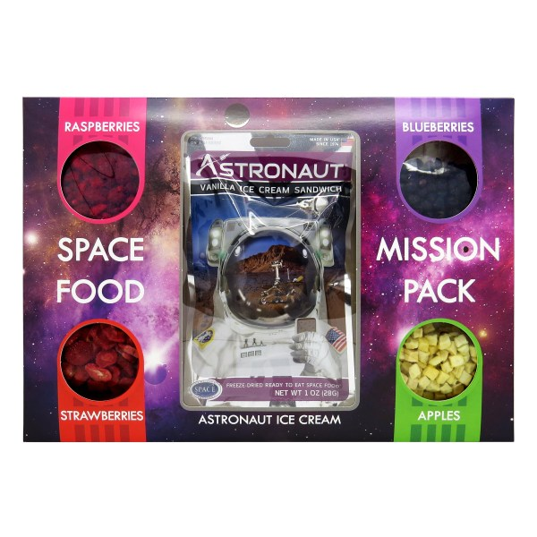 Astronaut food mission pack 1