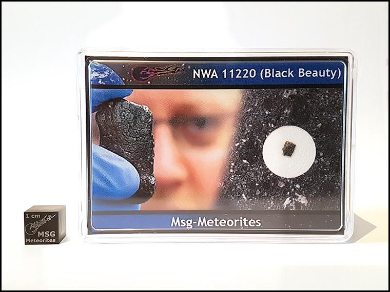 XL black beauty martian meteorite nwa 112220 1