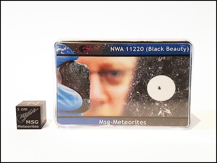 M black beauty martian meteorite nwa 112220 1