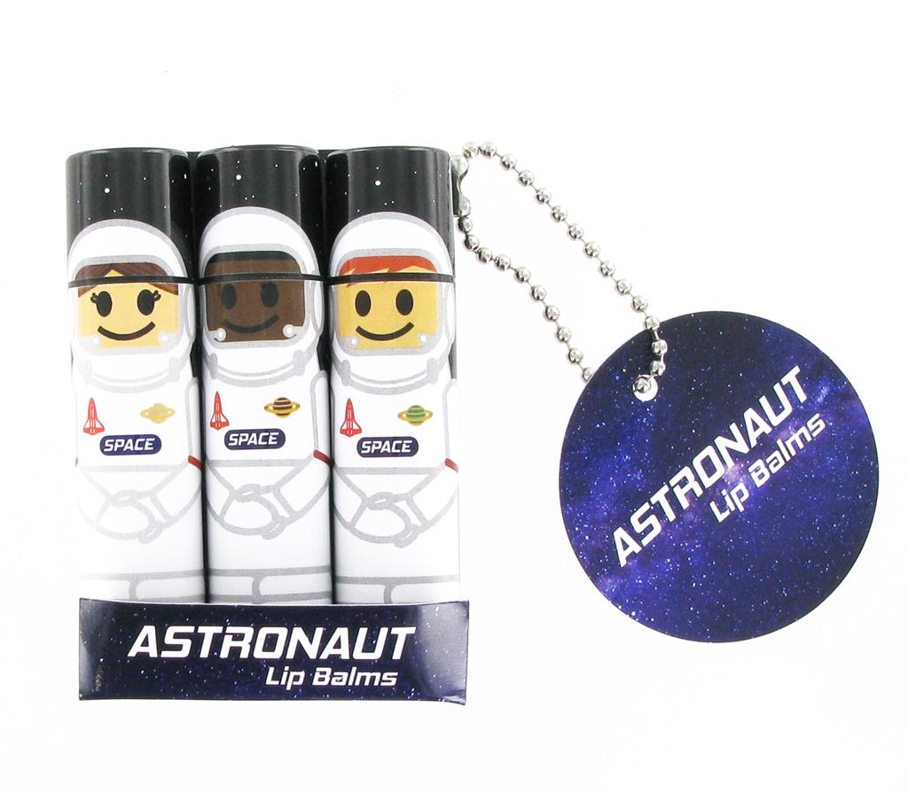 Astronaut lip balms